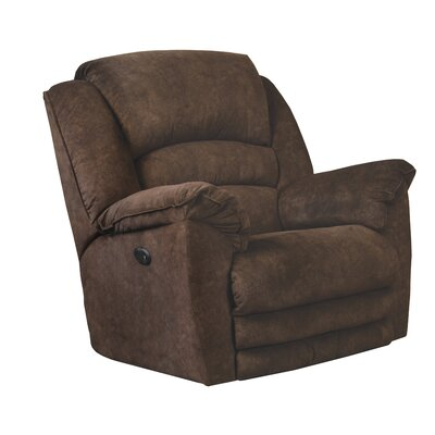 Rialto Recliner Body Fabric: Chocolate, Reclining Type: Manual, Motion Type: Rocker