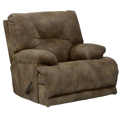 Voyager No Motion Recliner Body Fabric: Brandy, Reclining Type: Power