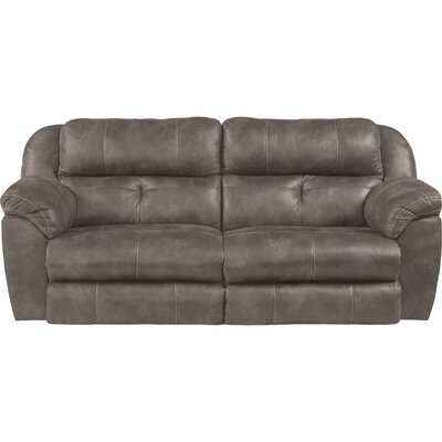 Ferrington Reclining Sofa Body Fabric: Dusk, Lumbar Support: No
