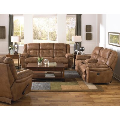 Joyner Reclining Loveseat Body Fabric: Almond, Reclining Type: Manual