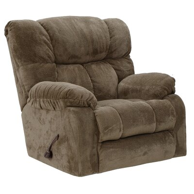 Popson No Motion Recliner Body Fabric: Mocha
