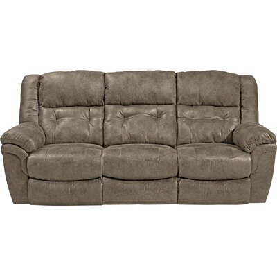 Joyner Reclining Sofa Body Fabric: Marble, Reclining Type: Power