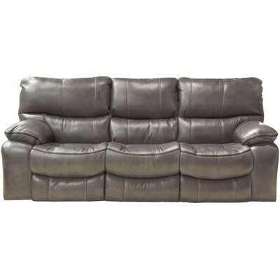 Camden Reclining Sofa Body Fabric: Steel, Reclining Type: Power