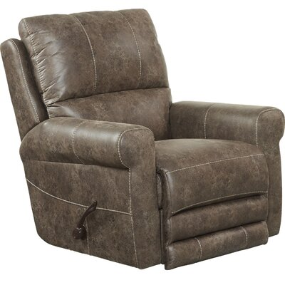Maddie No Motion Recliner Body Fabric: Ash, Reclining Type: Power