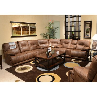 Voyager No Motion Recliner Body Fabric: Elk, Reclining Type: Power