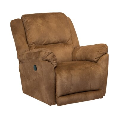 Maverick Swivel Recliner Body Fabric: Saddle, Reclining Type: Manual