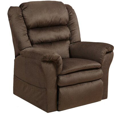 Preston No Motion Power Recliner Body Fabric: Mocha