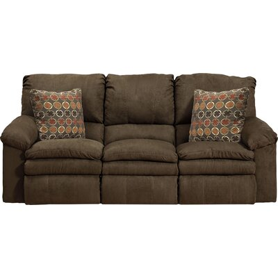 Impulse Reclining Sofa Body Fabric: Godiva/Spice, Reclining Type: Power