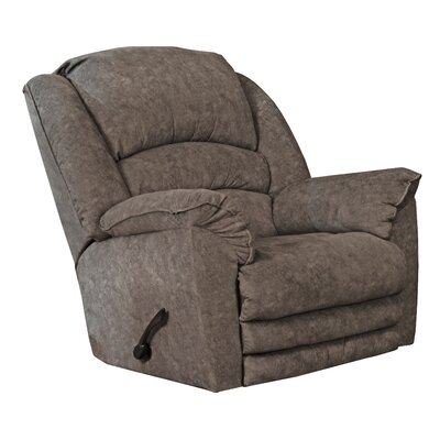 Rialto Recliner Body Fabric: Steel, Reclining Type: Manual, Motion Type: Rocker