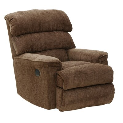 Pearson No Motion Recliner Body Fabric: Mocha, Reclining Type: Manual