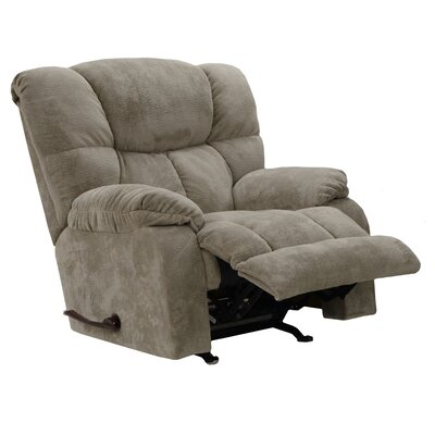 Popson No Motion Recliner Body Fabric: Taupe