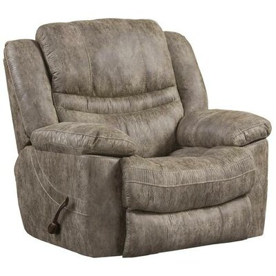 Valiant No Motion Recliner Body Fabric: Marble, Reclining Type: Manual