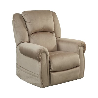 Spencer No Motion Power Recliner Body Fabric: Coffee