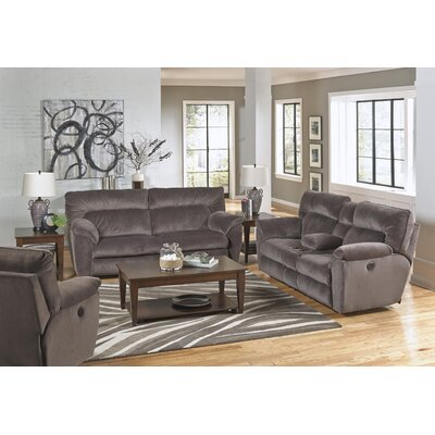 Nichols Recliner Body Fabric: Granite, Reclining Type: Power