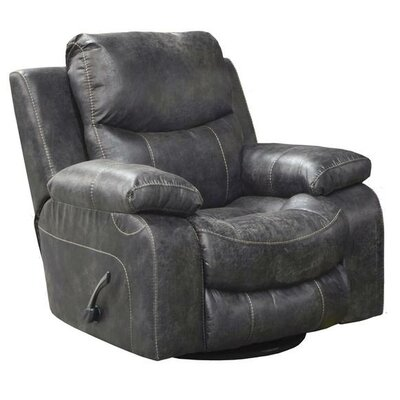 Catalina No Motion Recliner Body Fabric: Ice, Reclining Type: Manual