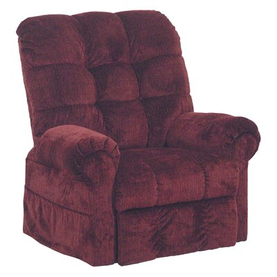Omni No Motion Power Recliner Body Fabric: Chianti