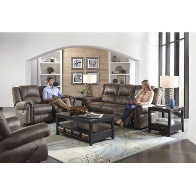 Westin No Motion Recliner Body Fabric: Ash, Reclining Type: Power