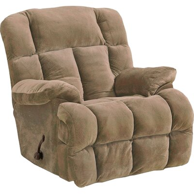 Cloud 12 Recliner Body Fabric: Camel, Reclining Type: Manual, Motion Type: Rocker