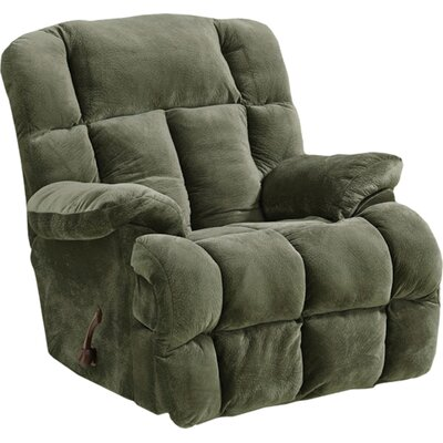 Cloud 12 Recliner Body Fabric: Sage, Reclining Type: Manual, Motion Type: Rocker