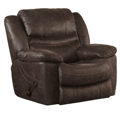 Valiant No Motion Recliner Body Fabric: Coffee, Reclining Type: Manual