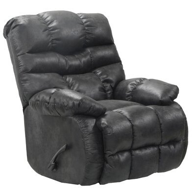 Berman Rocker Recliner Body Fabric: Steel