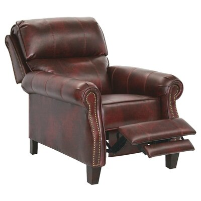Frazier No Motion Recliner Body Fabric: Bourbon