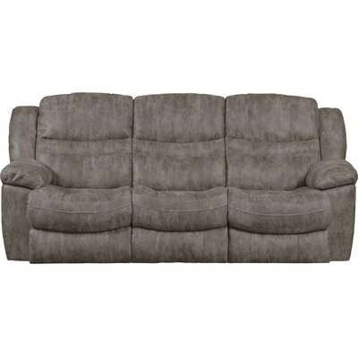 Valiant Reclining Sofa with Drop Down Table Body Fabric: Marble, Reclining Type: Manual