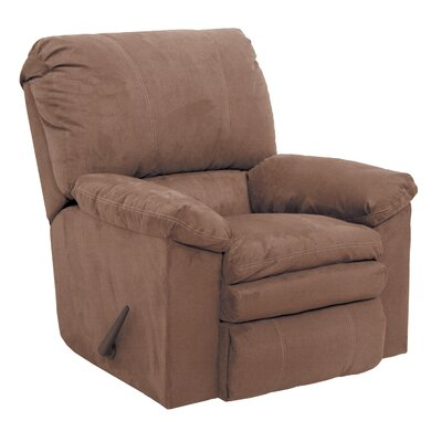 Impulse Rocker Recliner Body Fabric: Caf�, Reclining Type: Manual