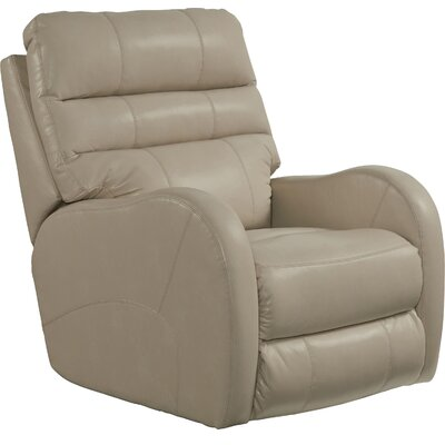 Searcy No Motion Recliner Body Fabric: Parchment, Reclining Type: Power