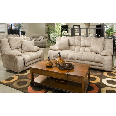 Branson Rocker Recliner Body Fabric: Camel, Reclining Type: Manual
