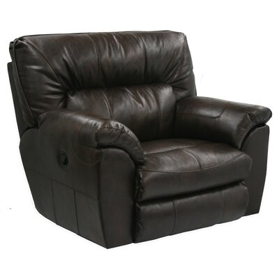 Nolan Extra Wide No Motion Recliner Body Fabric: Godiva, Reclining Type: Power