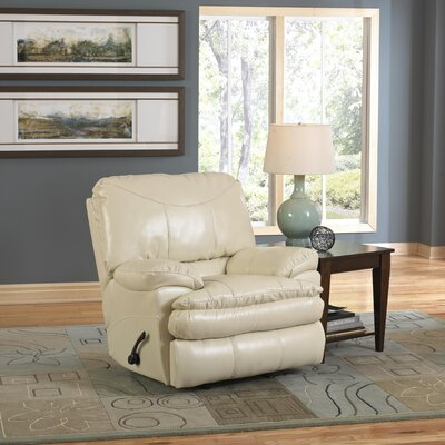 Perez No Motion Recliner Body Fabric: Ice, Reclining Type: Power