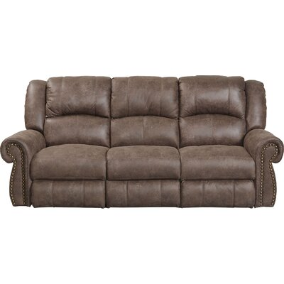 Westin Reclining Sofa Body Fabric: Ash, Reclining Type: Power