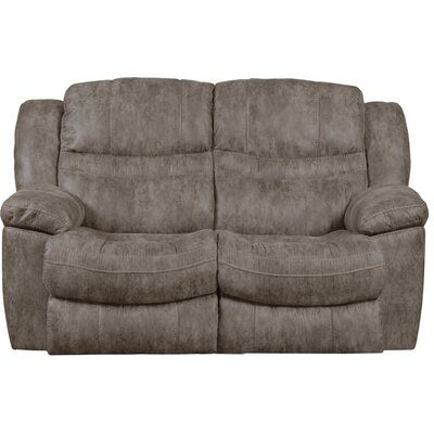 Valiant Reclining Loveseat Body Fabric: Marble, Reclining Type: Power