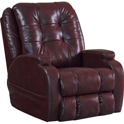 Jenson Power Recliner Body Fabric: Burgundy