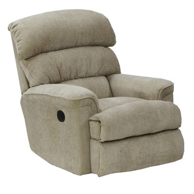 Pearson No Motion Recliner Body Fabric: Linen, Reclining Type: Power