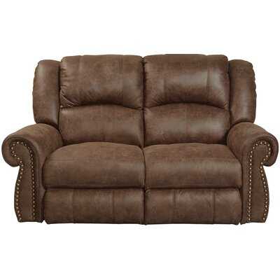 Westin Reclining Loveseat Body Fabric: Tanner, Reclining Type: Power