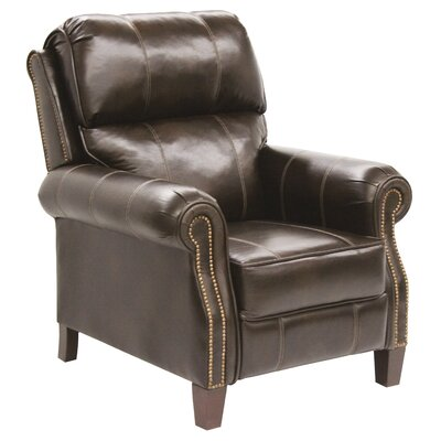 Frazier No Motion Recliner Body Fabric: Java