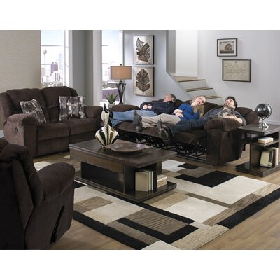 Transformer Chaise Rocker and Swivel Recliner Body Fabric: Chocolate