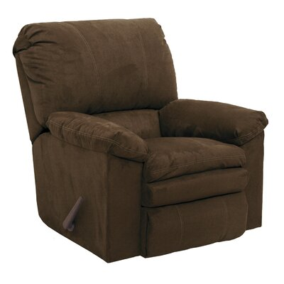 Impulse Rocker Recliner Body Fabric: Godiva, Reclining Type: Manual