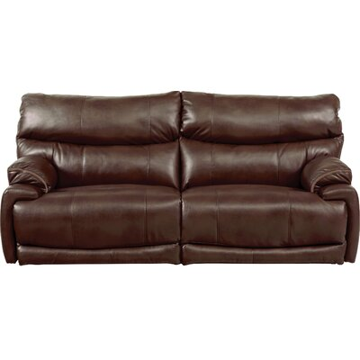 Larkin Reclining Sofa Body Fabric: Coffee, Reclining Type: Power