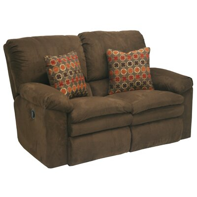 Impulse Reclining Loveseat Body Fabric: Moss/Earth, Reclining Type: Power