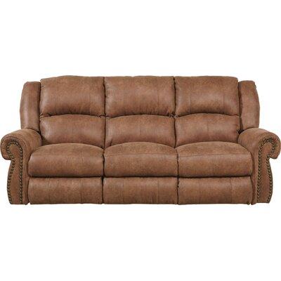 Westin Reclining Sofa Body Fabric: Nutmeg, Reclining Type: Manual