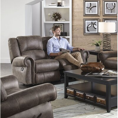 Westin Reclining Loveseat Body Fabric: Ash, Reclining Type: Power