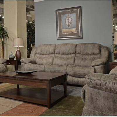 Valiant Reclining Sofa Body Fabric: Marble, Reclining Type: Manual