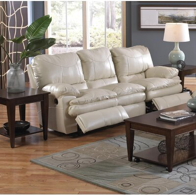 Perez Reclining Sofa Body Fabric: Ice, Reclining Type: Power