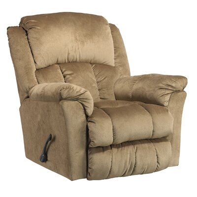 Gibson Glider Recliner Body Fabric: Mocha, Motion Type: Lay Flat