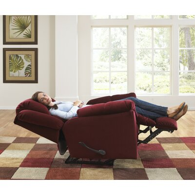 Buy low price catnapper gibson lay flat suede microfiber for Catnapper gibson chaise recliner