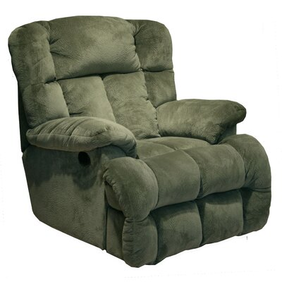General Chaise Wall Hugger Recliner Upholstery: Sage