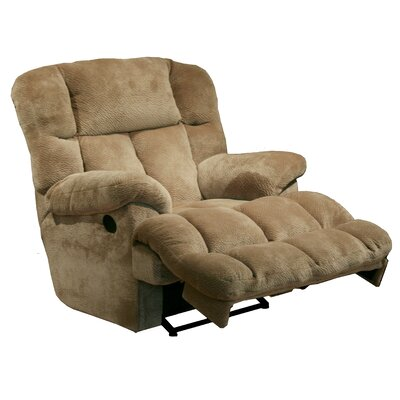 General Chaise Wall Hugger Recliner Upholstery: Camel